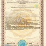 Сертификат ISO 9001:2008 ГП Центр геотехнологии