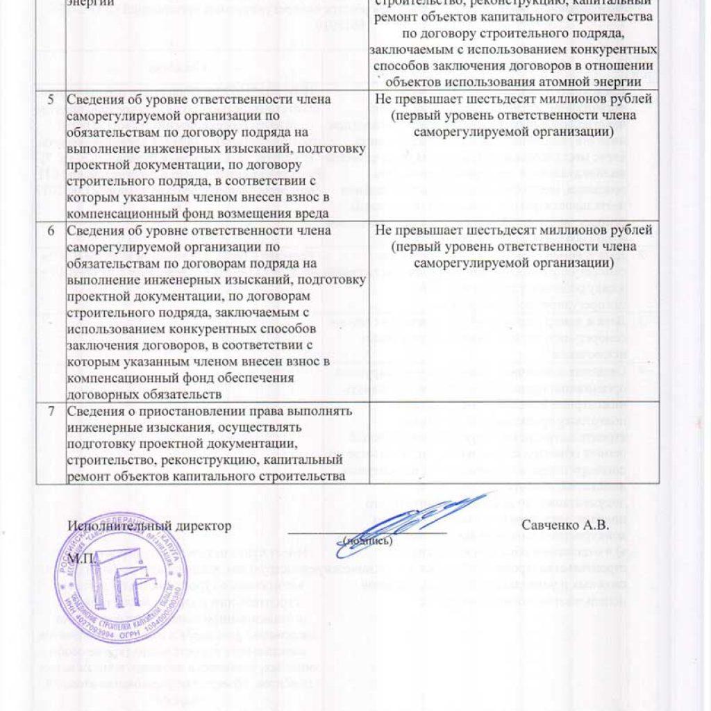 Наше СРО Объединение строителей Калужской области