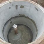 Строительство погреба для скважины