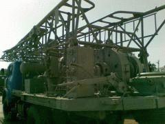 Самоходный буровой агрегат 1БА15В