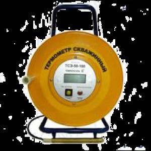 Термометр электронный скважинный ТСЭ-D-500