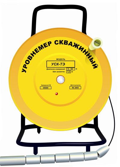 Уровнемер скважинный тросовый УСК-ТЭ-300