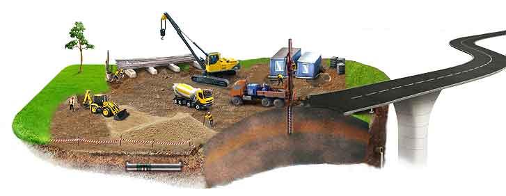 геологические и геодезические работы